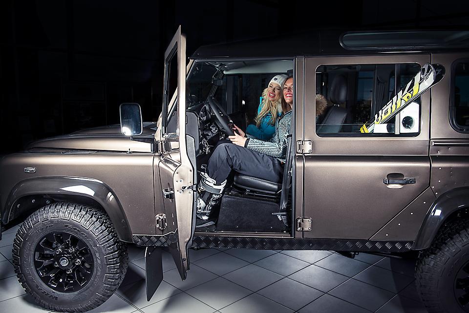 Rand Rover + Volkl